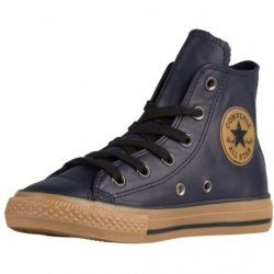 CONVERSE Junior Chuck Taylor All Star Hi Leather Sneakers size: 6