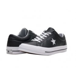 CONVERSE Junior One Star Ox Perf Leather Sneakers size: 4.5