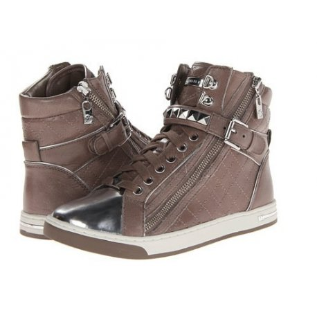 MICHAEL KORS Glam Studded High Top Sneakers 38/39