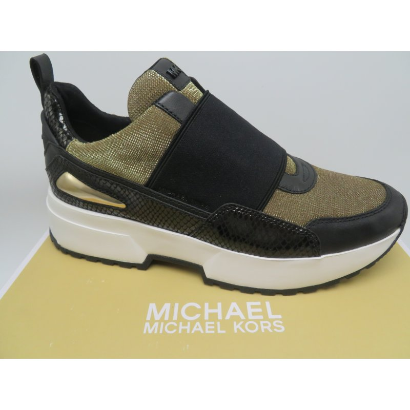 e249d6b65a1ea ... MICHAEL KORS buty sneakersy metaliczne COSMO 9.5 ...