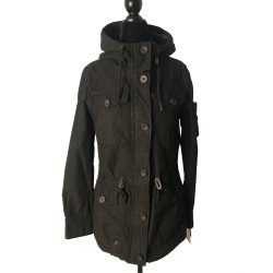 Levi's® Women's Hooded Military Jacket size: SMALL
