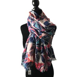 TOMMY HILFIGER Women`s Floral Print Scarf