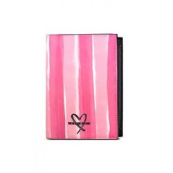 Victoria's Secret  Passport Cover Case Signature Stripe