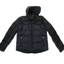 TOMMY HILFIGER Men's Quilted Puffer Winter Jacket with Hood size: XL