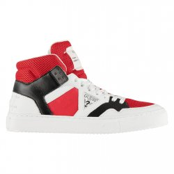 GUESS Men's BRUCE High-Top Sneakers size: 9