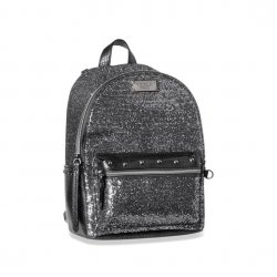 VICTORIA`S SECRET Glitter Mesh Small City Backpack