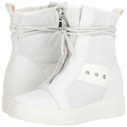 STEVE MADDEN Women's ANTON High-Top Leather Sneakers size: 7.5