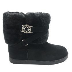 G by GUESS Women's ALLIO Faux-Fur Trimmed Boots size: 9.5