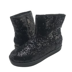 G by GUESS Women's ASELLA Faux-Fur Trimmed Boots size: 6.5