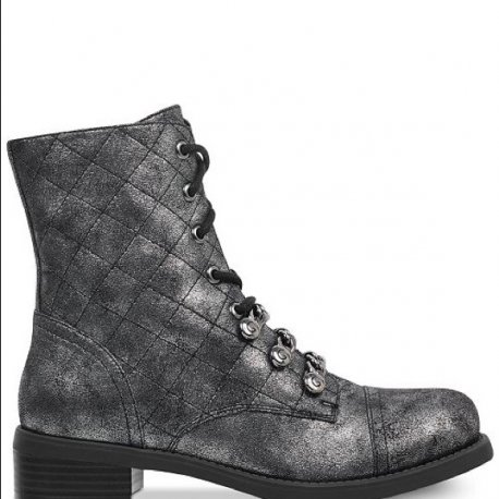 G by GUESS Women's MEERA Combat Booties size: 6