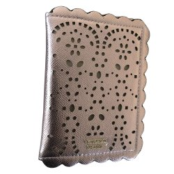 Victoria's Secret  Passport Cover Case Holder Laser cut Rose Gold