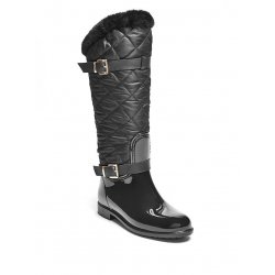 GUESS Women's Quilted Nylon Rainboots size: 5