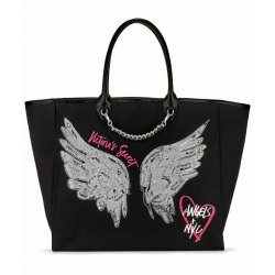 VICTORIA`S SECRET Women's Fashion Show Angel City Tote Rhinestone Sequin Angel Wings