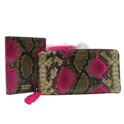 Victoria's Secret Zip Wallet + Passport Holder, Cover, Case