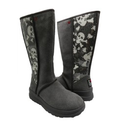 UGG Kisses Tall Grey Sequin...