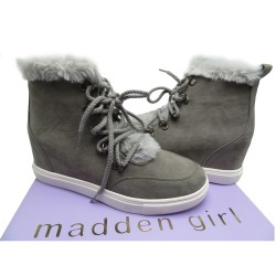 MADDEN GIRL Pulley Faux-Fur...