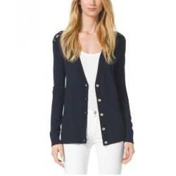 MICHAEL KORS Lace back cardigan from USA