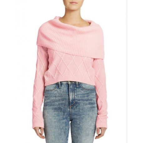 GUESS warm sweater from angora