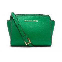 MICHAEL KORS handbag SELMA Mini Messenger from USA