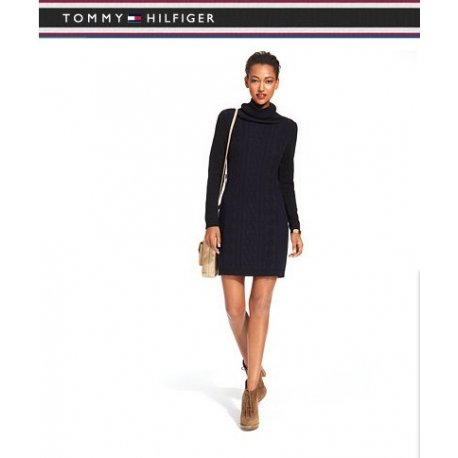 TOMMY HILFIGER sweater dress with golf