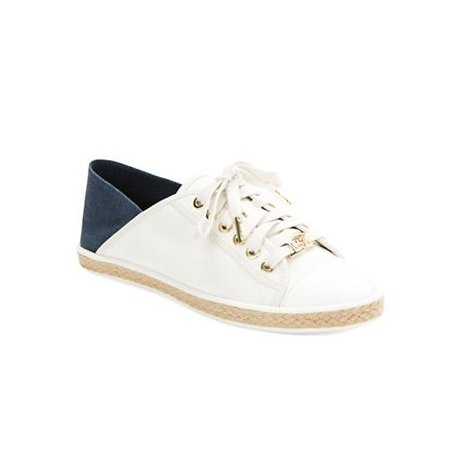 MICHAEL KORS sneakers KRISTY biel/granat z USA 38