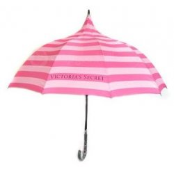 VICTORIA`S SECRET ultra large umbrella with logo VS