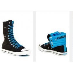 CONVERSE high-roll sneakers...