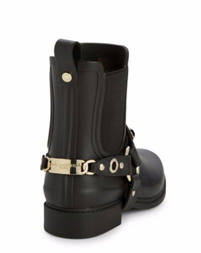 7edbfbe0a Details about Karl Lagerfeld Paris Women's LYNN Waterproof Boot, Rain boots  size: 6